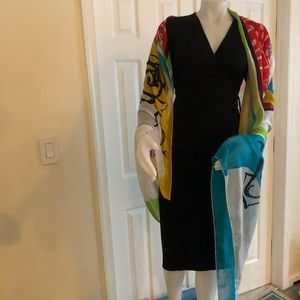 Gideon Oberson Large Scarf Coverup